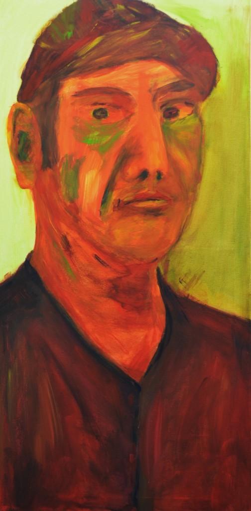 Ich, 2012, von stebü Painting 50cm x 100cm