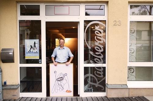 """Einzelausstellung /""""Kingstone"""" / Restaurant &Lounge / Berliner Straße / Dresden"""