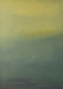"""13.03.2013-1"", stebü, 2013, Painting, Acryl + Leinen, 50cm x 70cm"