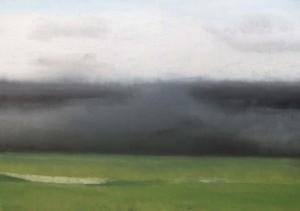 """Die See"", 26.02.2014, stebü, Painting, Acryl + Leinen, 70cm x 100cm"