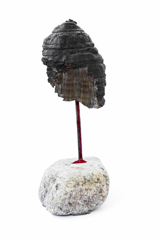 """""""Die Trophäe"""", stebü, 24.05.2015, Fotografie der Installation 50cm x 70cm"""