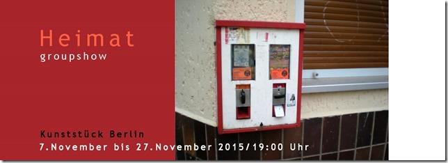 """Gemeinschaftsausstellung """"Heimat"""", 7.11.-27.11.2015"""