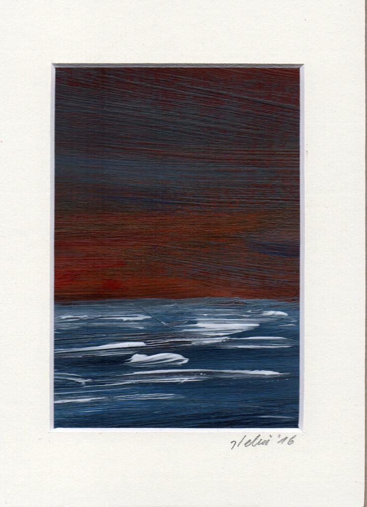 10.01.2016, stebü, Acryl+Papier, 13cm x 18cm