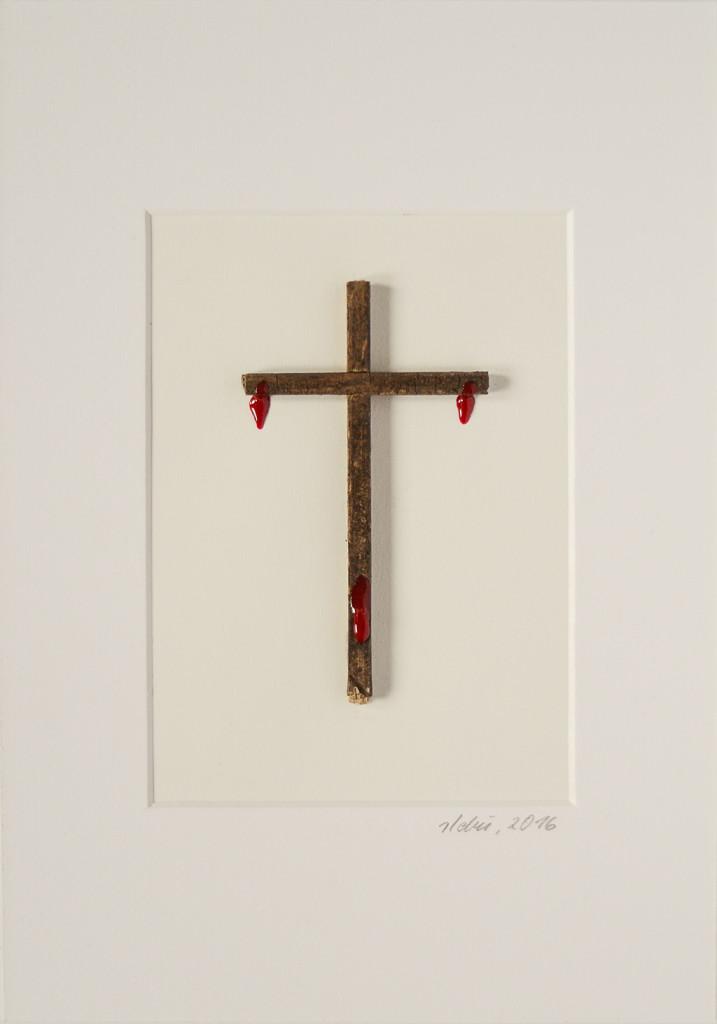 """""""Ostern / Unser aller Blut"""", stebü, 01.03.2016, 21cm x 30cm"""