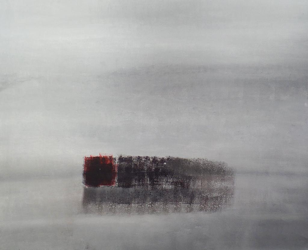 """""""Ein weites Feld"""", stebü, 02.10.2013, Acryl + Leinen, 100cm x 80cm"""