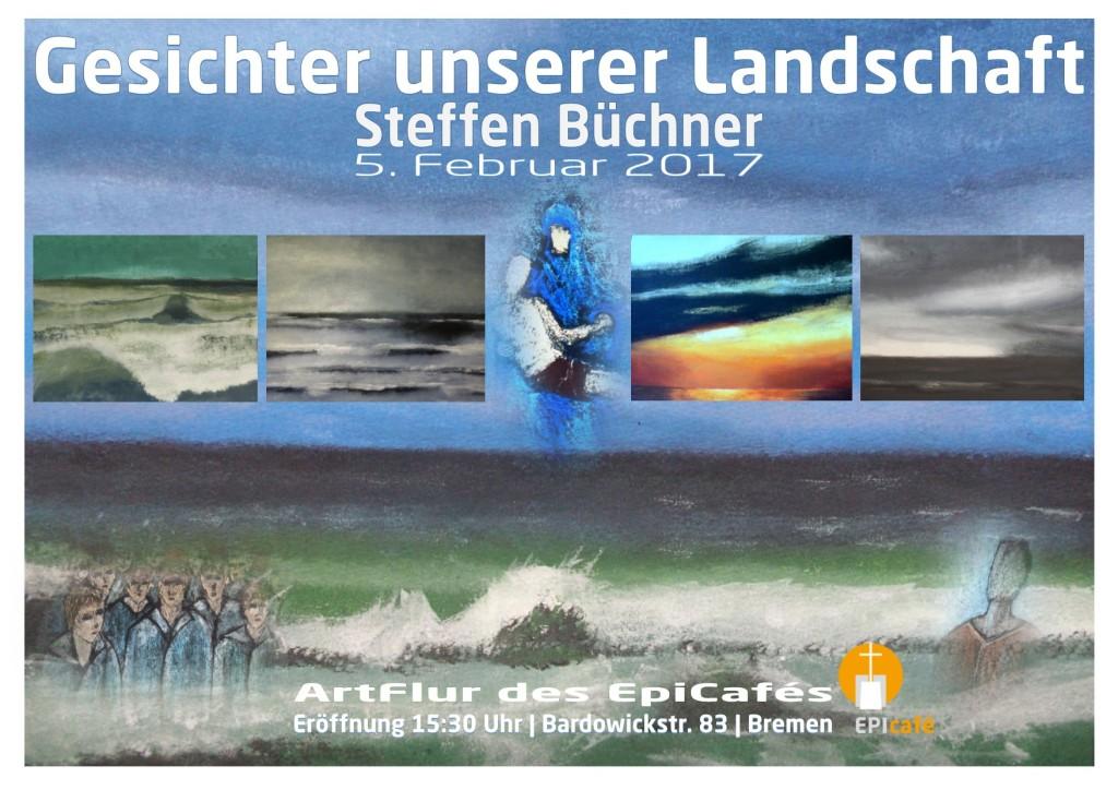 """GESICHTER UNSERER LANDSCHAFT"" Einzelausstellung 05.02. - 21.04. 2017"